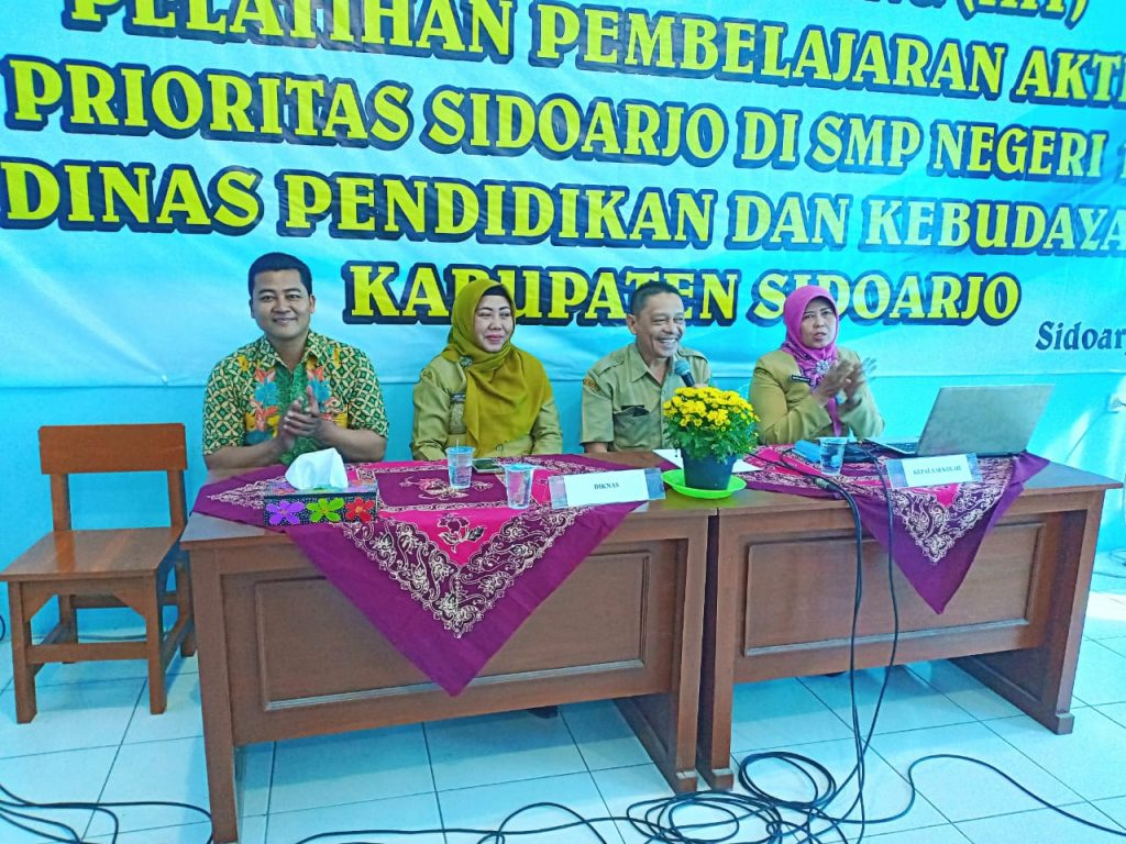 in house training smp negeri 1 sedati